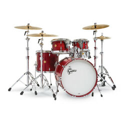 Gretsch Drums Usa Custom 5-piece Drum Set Satin Rosewood Lacquer