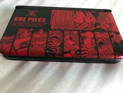 Nintendo 3ds Ll One Piece Unlimited World R Adventure Luffy Red Ver Discontinued