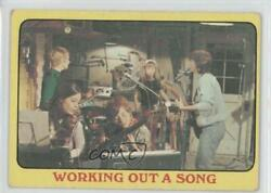 1971 Topps Partridge Family Yellow Border Working Out a Song #40 0a3