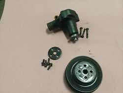 Water Pump And Pulley W/ Air 3 Row 2.3 Mustang Svo Thunderbird Turbo Coupe 83-86