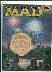 Mad 34 4.0 1957 Fireworks Cover
