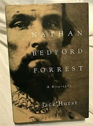 Jack Hurst Nathan Bedford Forrest Signed First Edition, 1st Printing A Biography