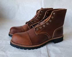 Super Rare 1st. Red Wing X Brooks Brothers 4556 Heritage Iron Ranger Boots 12d