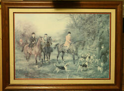 Heywood Hardy Vintage Prints 2 Going To Cover And Out For A Scamper