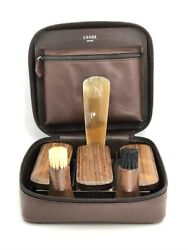 Brand New Cedes Milano Shoe Care Set Made By G. Lorenzi Milano