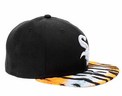 New Era 59fifty Chicago White Sox Visor Real Tiger Menand039s Fitted Hat 5950