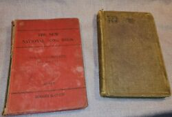 Antique National Song Book And Live For Jesus Books Need Restoration Ok Condition