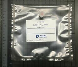 Lot Of 50 Tedlar Air/gas 1 L Sampling Bags With 2-in-1 Combination Valve
