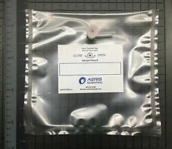 Lot Of 100 Tedlar Air/gas 1 L Sampling Bags With 2-in-1 Combination Valve