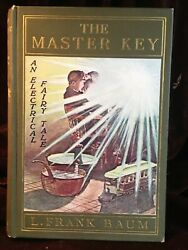 L. Frank Baum. The Master Key 1901 First Ed First Issue Fine Copy