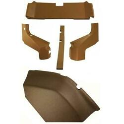 Cr6003 Cab Interior Kit, Fenders And Rear Wall Fits John Deere