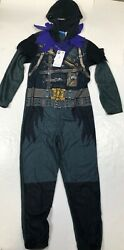 Fortnite Raven Menand039s Adult Union Suit Costume Pajamas Nwt