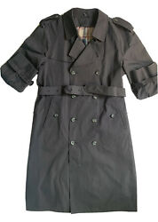 Men's Designer Trench Coat Corporate Apparel By Rodes Sz Xl Formal Business Ware