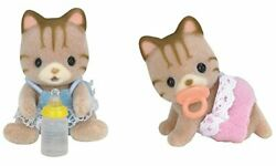 Calico Critters Sandy Cat Twins Assorted Model