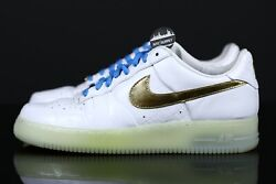 Nike Air Force 1 Low Rio Ferdinand 1world White Gold Blue 352633 171 Size 13