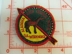 Oa Lodge Alapaha 545r-11960s Oa Workhorse Patch Collectible Patch Rf