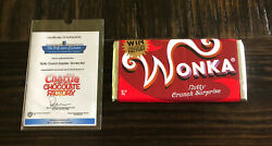 Charlie And The Chocolate Factory Screen Used Movie Prop Wonka Bar Johnny Depp