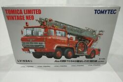 Tomica Limited Vintage Lv-n24b Hino Tc343 Fire Engine Oyama Fire Dept.