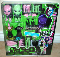 Monster High Create-a-monster Starter Pack Witch And Cat 1st Edition New