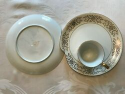Vintage Monaco Snack Plates And Cups By Renaissance Lot