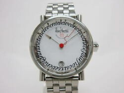 Alain Silberstein Klub Medio Automatic White Dial Stainless Steel Limited 250