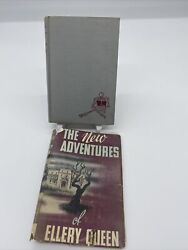 The Adventures Of Ellery Queen Vintage 1944 Triangle Hardcover Rare