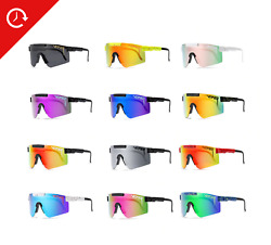 Pit Viper Polarized Sunglasses Cycling Sport Goggles TR90 For Men Women Outdoor $32.99