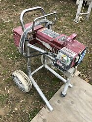 Titan 640i Airless Paint Sprayer High Rider Working In Full Working Order