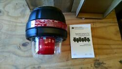 Federal Signal 24xst-024r-mod Explosion Proof Warning Red Strobe Light 24vdc