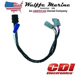 423-6344 Adapter Harness 1976-95 Engines To Newer 1996 And Up J/e Deutsch Controls