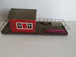 Handmade Building For Train Layout, O Or Ho Scale, Very Nicely Built 7442