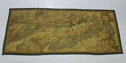 Antique French 16thc Aubusson Hand Woven Tapestry 190x85cms