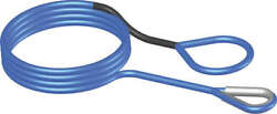 Kfi Synthetic Winch Line 15/64 X 50 Ft. Extension Cable Blue Syn-ext-b50