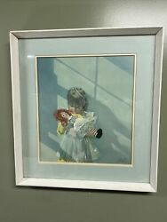 Carolyn Blish Limited Edition Signed Print quot;Raggedy Annquot; $200.00