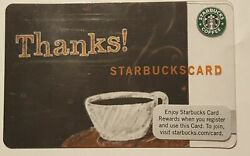Starbucks Thanks Indianapolis Test Card - Only Available July And Aug 2009 Rare