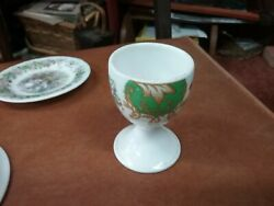 Royal Albert Albany Green Egg Cup 65mm High Bone Chine Made In England