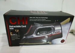 CHI Steam Iron for Clothes with Titanium Infused Ceramic Soleplate 1700 Watts
