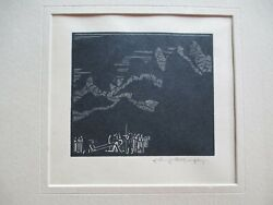 Johnny A. Murphy Woodcut Titled Andldquovii Jesus Falls The 2nd Time