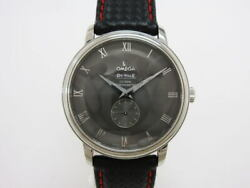 Omega De Ville Prestige Co-axial 4813.40 Automatic Gray Dial Stainless Steel