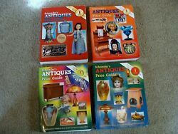 Schroederand039s Antiques Price Guide Lot Of Four Collectibles 1994 2003 2004 2007