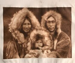 Edward S.curtis Photogravure Classic Gravure Company A Family Group Noatar