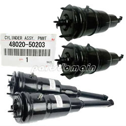 Front Rear Left Right Air Suspension Spring Shock New For Lexus Ls600h Ls600hl
