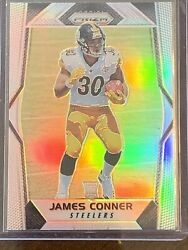 2017 Prizm James Conner Silver Prizms Rookie Card Rc Steelers