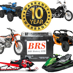 High Performance Agm 10 Year Powersports Battery Ytx20hl-bs Oem Replacement