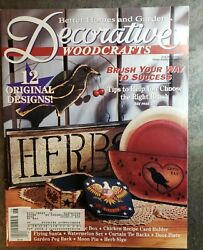 Decorative Woodcrafts Magazine Better Homes And Gardens June 1994 Brush To Success