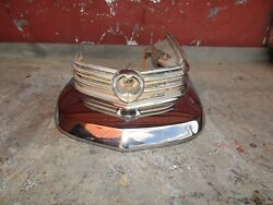 1963 Cadillac Driver Side Front Bumper End And Side Marker Light Assembly.