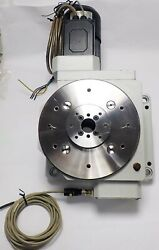 Weiss Tc220 T Rotary Table Indexer W/weiss Motor 5.5azka 63s-4t B14p120 And Cables