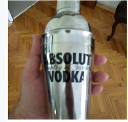Absolute Vodka's Cocktail Mixing Bowl-glass - Collectables Glass