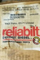 Detroit Diesel 23506763 Water Pump Assembly Remanufactured