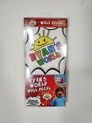 RYAN#x27;S WORLD WALL DECALS REMOVABLE amp; REPOSITIONABLE BONUS 3D ACTION FREE SHIP